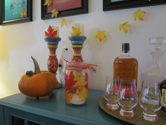 Best spouse ever: My lovely wife goes out of her way to endow our home with the spirit of the fall season