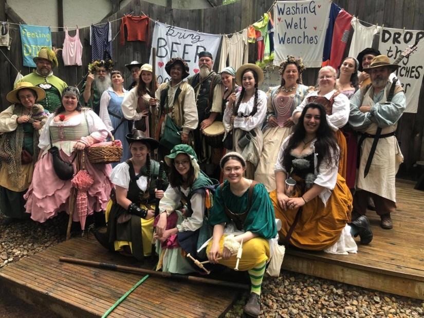 Renaissance Fair Folk