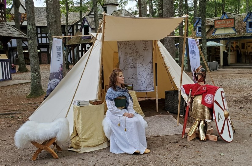 Guinevere was known as the most beautiful woman in the realm.