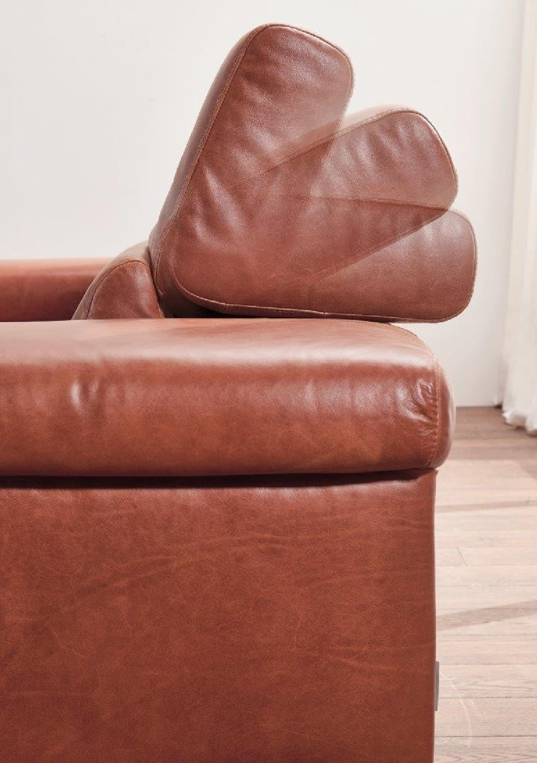 Canap design 2 places DREAMLINE en cuir ou tissu