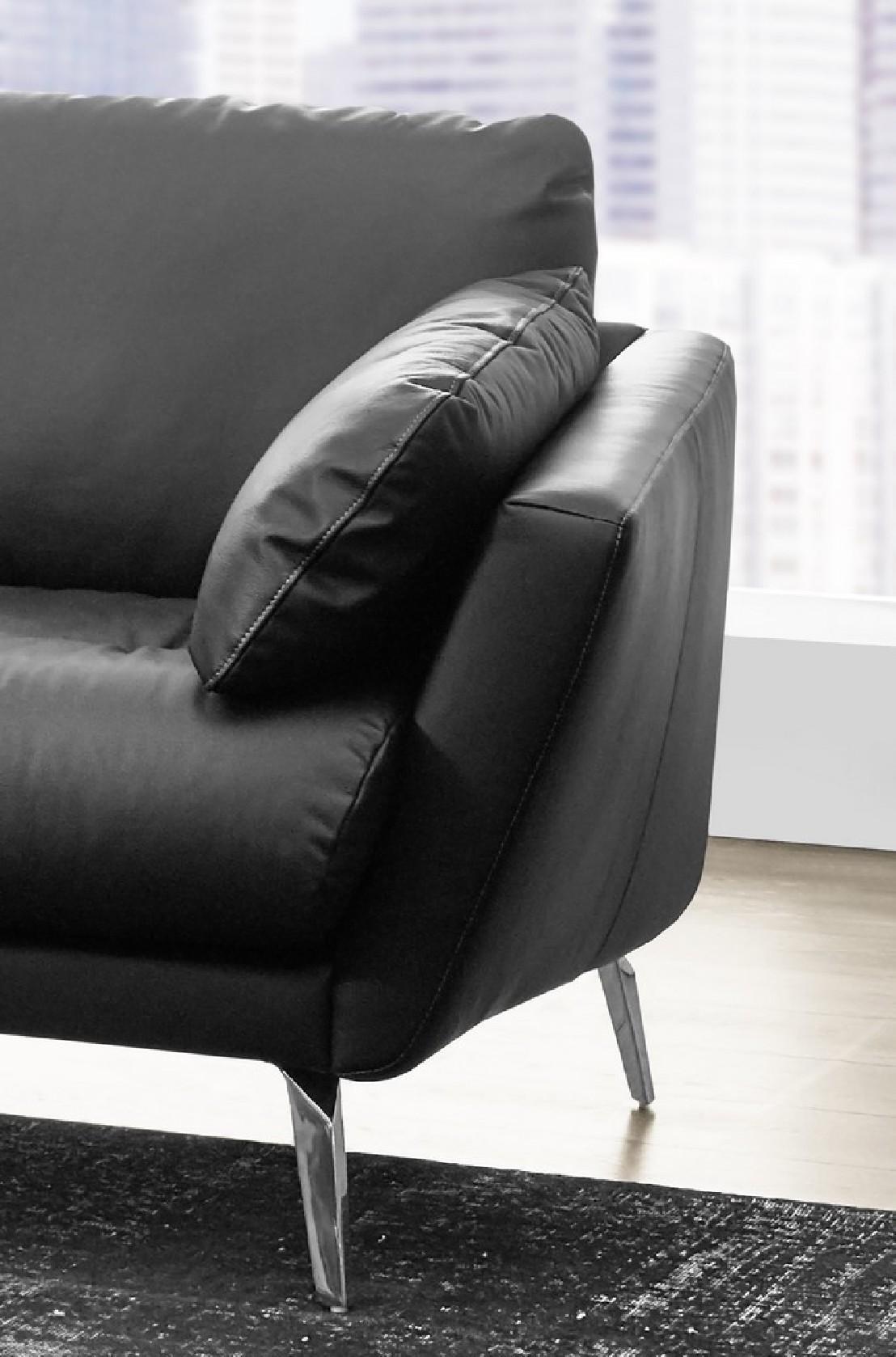 Petit canap dangle avec chaise longue confort souple AM