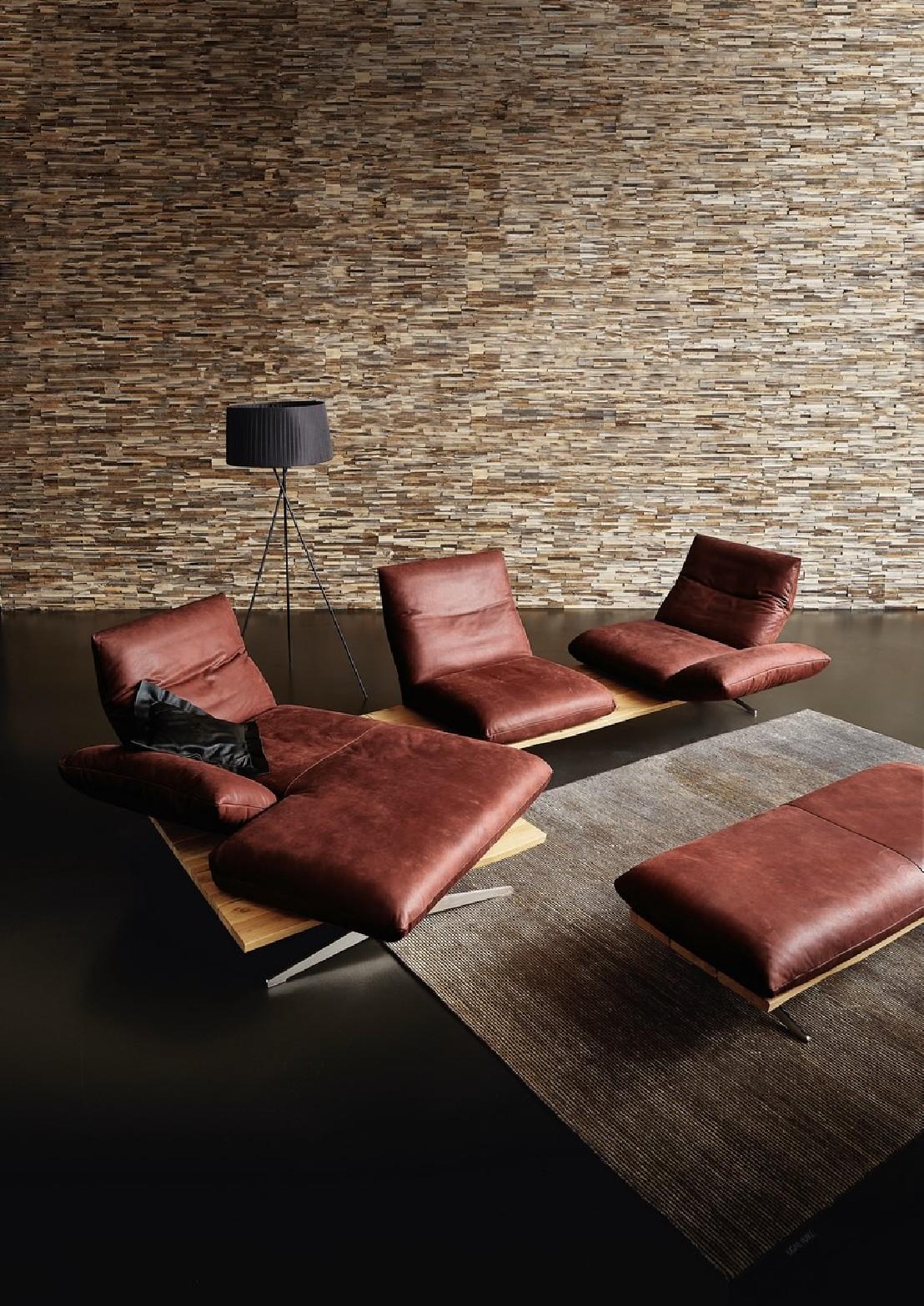 Canap chaise longue ultra design cuir HYPEnKEYS