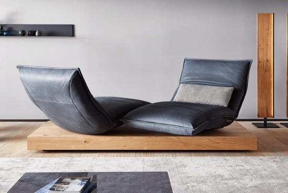 chaise longue double sur banc electrique de relaxation design anderson day lounge