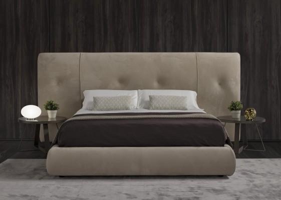 lit design love u babe tete de lit large tapissee cuir tissu ou nubuck