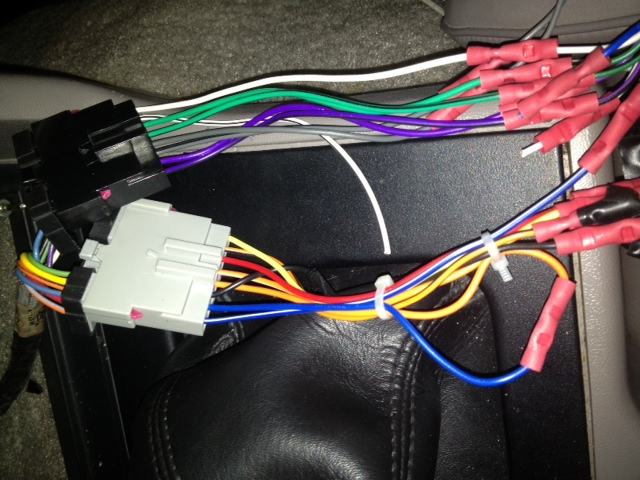 2000 Mustang Wire Harness