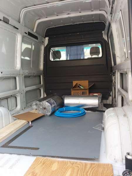 Installing a Fantastic Fan roof vent in a Sprinter camper van conversion  SeanStoopscom