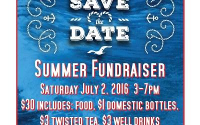 Summer Fundraiser 2016
