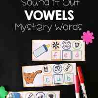 Vowel Sounds Writing Activity I Teach Linky