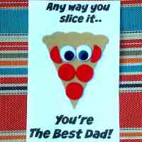 Father's Day Pizza Craft