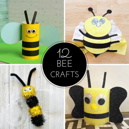 small resolution of 12 Bee Crafts and a Fun Free Printable - Sea of Knowledge