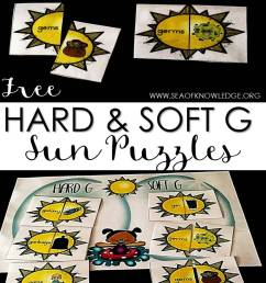 Hard and Soft G Sound Sort Sun Puzzles - Sea of Knowledge [ 1228 x 767 Pixel ]