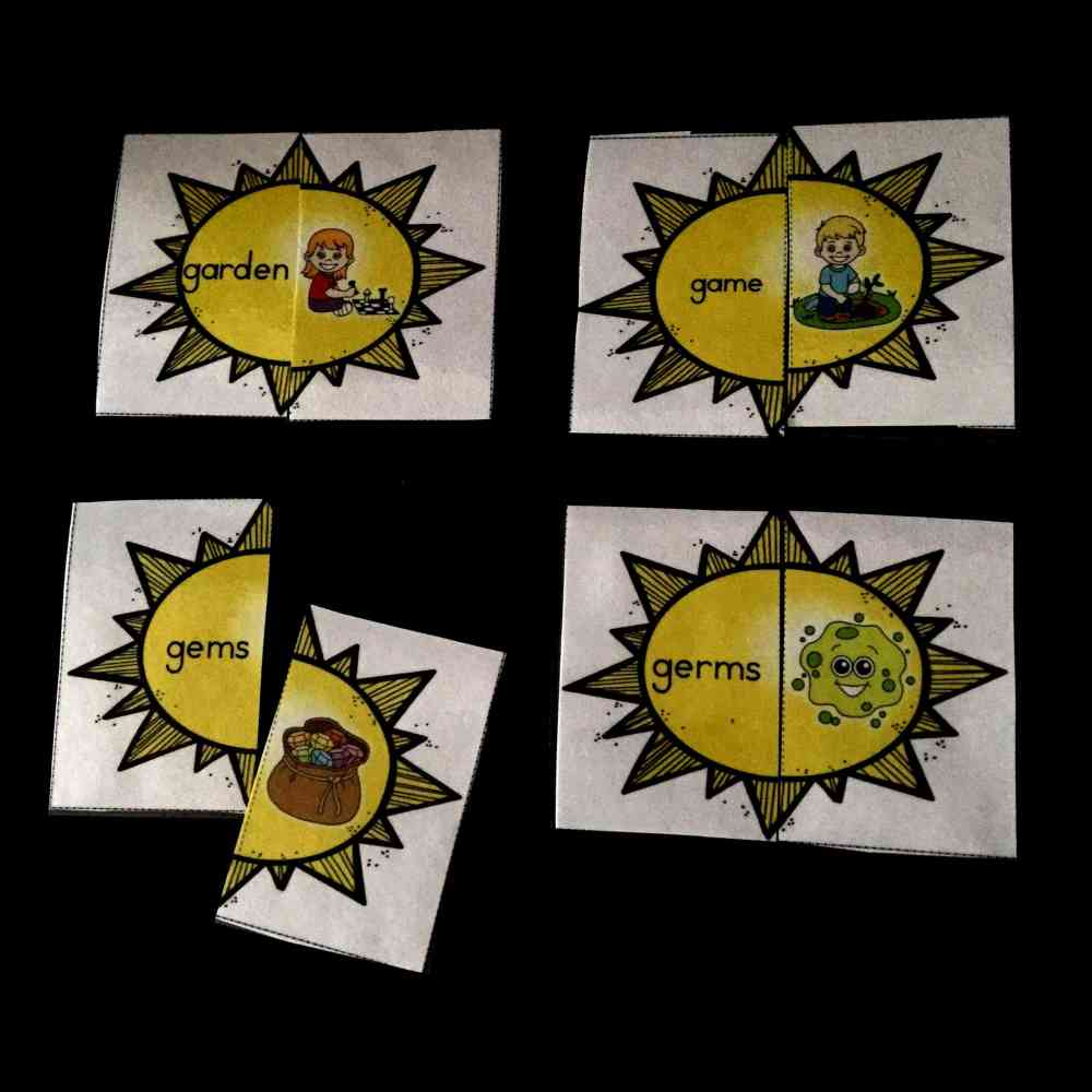 medium resolution of Hard and Soft G Sound Sort Sun Puzzles - Sea of Knowledge