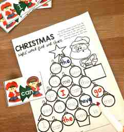 Free Printable Christmas Sight Word Games Your Kids will Fight Over! [ 3264 x 2448 Pixel ]