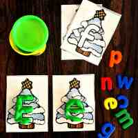 Preschool Fine Motor Christmas Centers and Activities