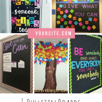 5 Bulletin Boards to Promote Kindness