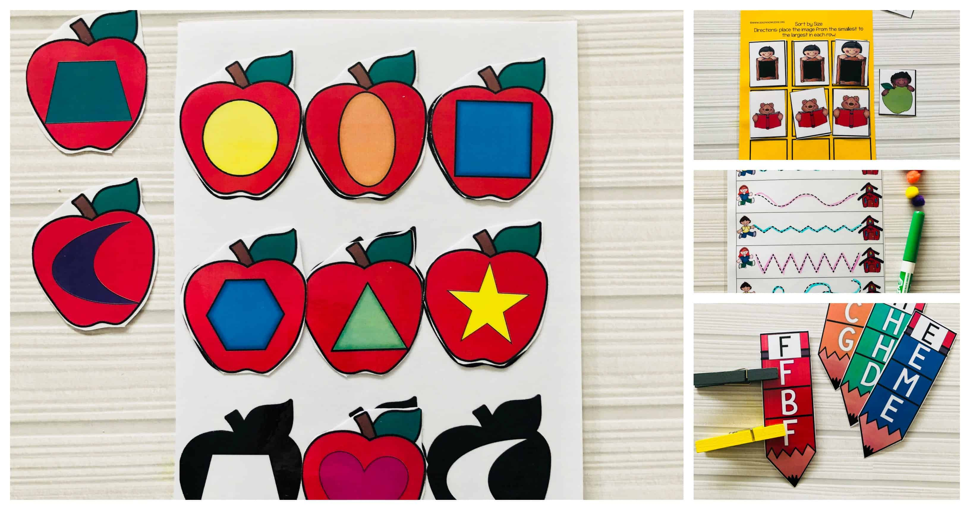 Back To School Fine Motor Skill Activities For 3 5 Year Olds