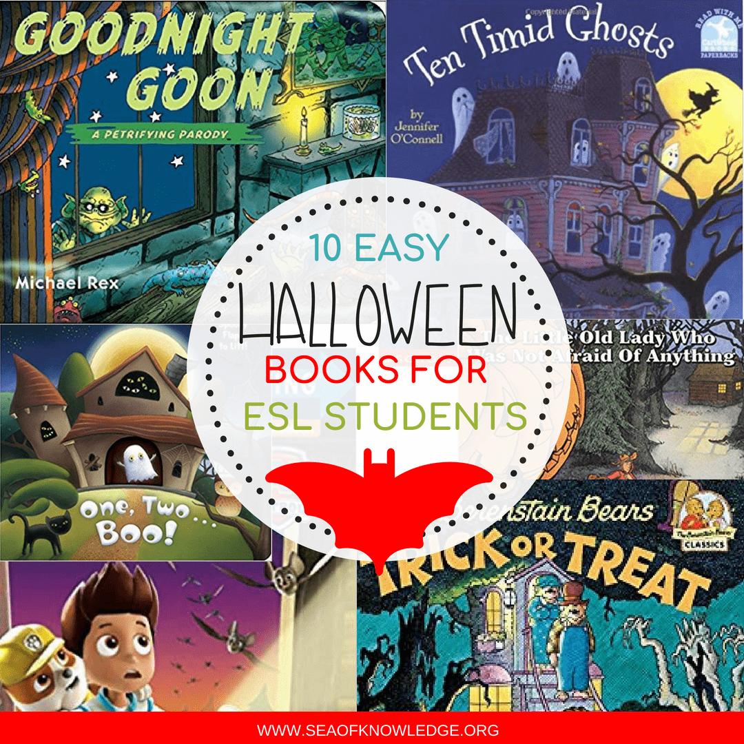 Halloween Books For Kids In Esl Setting