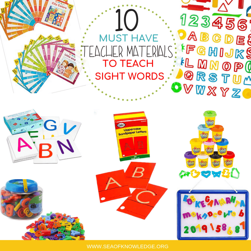 10 Must Have Supplies For Teaching Sight Words Easy Ways