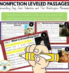 Groundhog and Leap Day Reading Comprehension Passages with Questions  Differentiated Texts! - Sea of Knowledge [ 1024 x 1024 Pixel ]