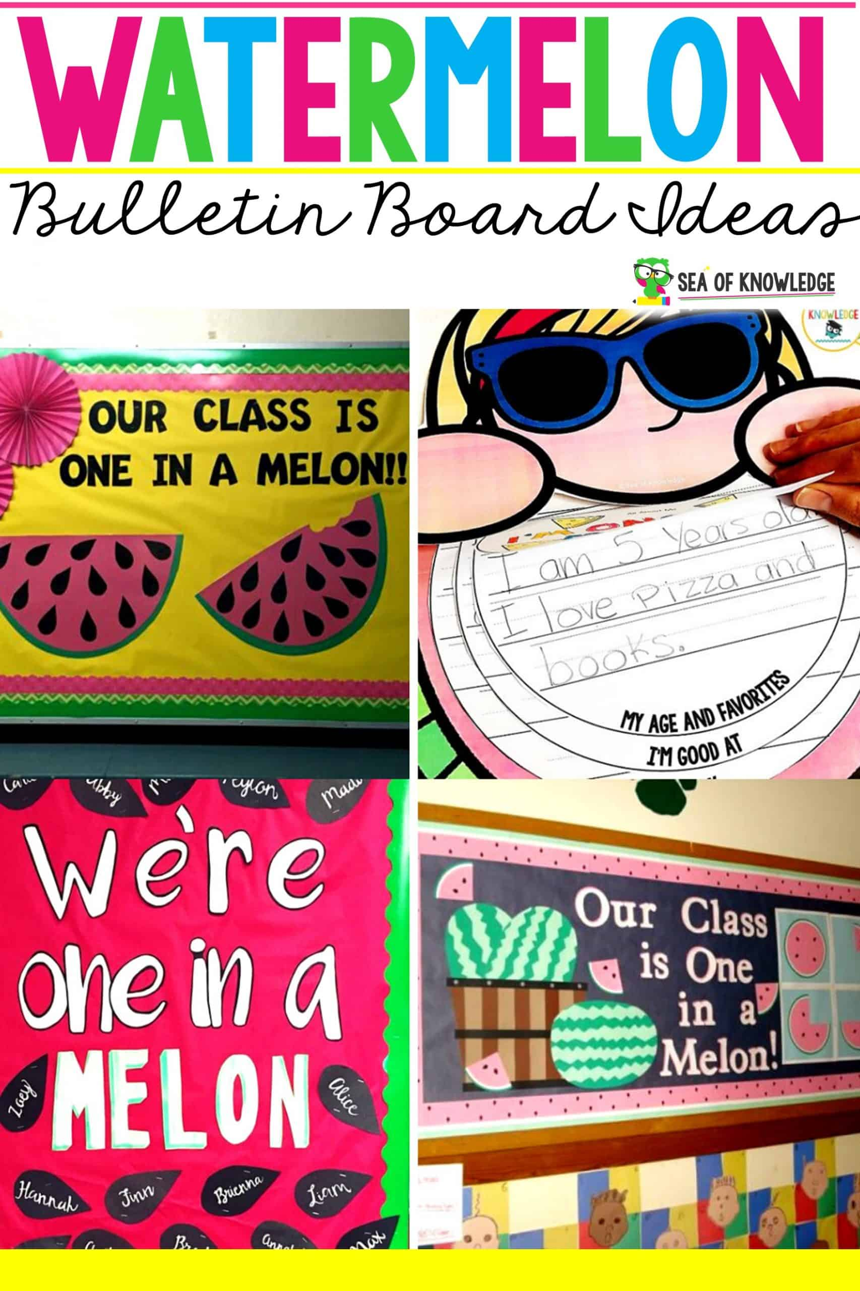 Watermelon Bulletin Board Ideas
