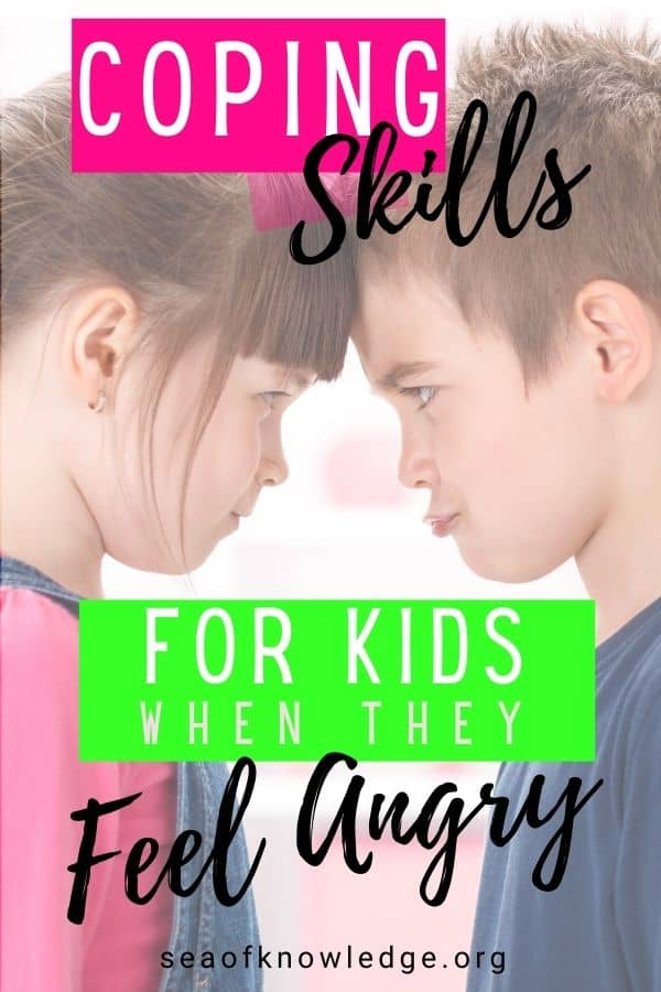 Coping Skills for Kids when they Feel Angry