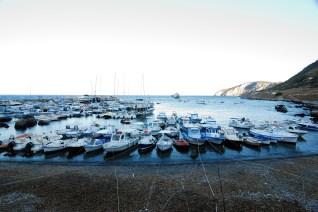 Il porto principale di Marettimo