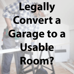 Cost For Kitchen Remodel Resurfacing Countertops How Do I Legally Convert A Garage To Usable Room? | Sea ...