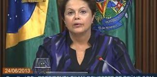 Dilma Rousseff - Plebiscito