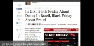 Forbes critica Black Friday no Brasil