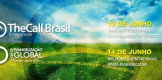 TheCall Brasil: adoração, oração e proclamação da Palavra em favor da nação brasileira