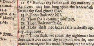 """""""Bíblia dos pecadores"""" extremamente rara vai a leilão"""