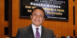 Deputado Pastor Marcos Mansur sobre a homenagem à Rede Record e à Tv Vitória | Seara News