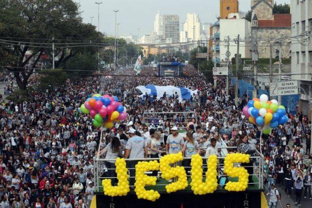 Marcha para Jesus é considerado o maior evento cristão do mundo!