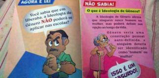 Alunos de Uberaba recebem cartilha evangélica contra ideologia de gênero