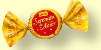 Produção do bombom Serenata de Amor pode sair da Garoto