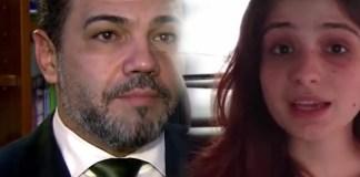 Marco Feliciano e Patricia Lelis no Conexão Repórter SBT