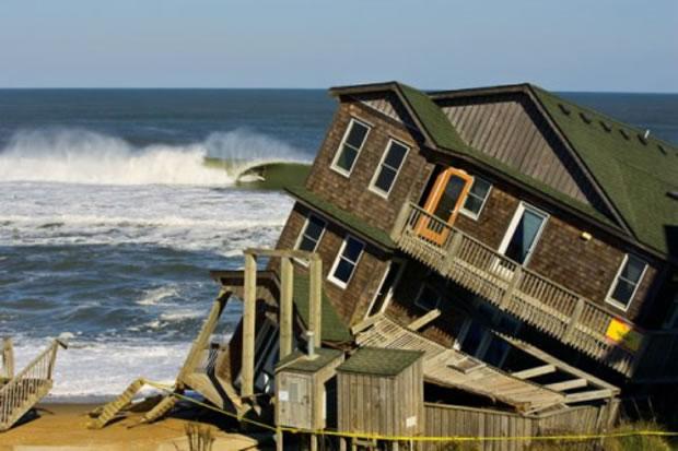 A casa caiu, o que fazer?