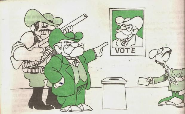 Cabresto, voto forçado!