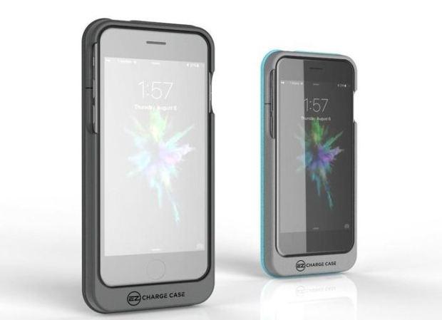 Capinha para iPhone traz bateria reserva e carregador embutidos