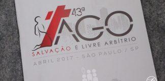 Salvação e Livre Arbítrio é o tema da 43ª AGO da CGADB