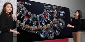 LG apresenta primeira TV OLED de 88 polegadas com resolução 8K