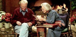 """Sem a parceria da minha esposa, meu ministério seria impossível"""", diz Billy Graham"""