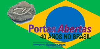 PORTAS ABERTAS: 40 ANOS DE BRASIL