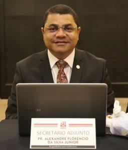 Pr. Alexandre Junior é o novo secretário-adjunto da CGADB