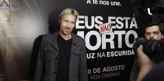 """Pré-estreias de """"Deus Não Está Morto 3"""" impressionam David A.R. White"""