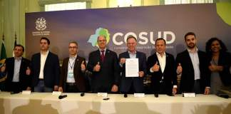 Cosud reúne os sete governadores das regiões Sul e Sudeste, pela primeira vez