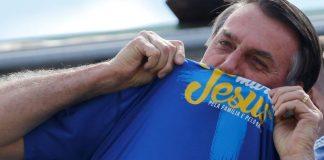 'Ideologia de gênero é coisa do capeta', diz Jair Bolsonaro na Marcha para Jesus