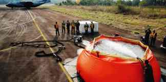 Brasil inicia combate ao fogo na Amazônia