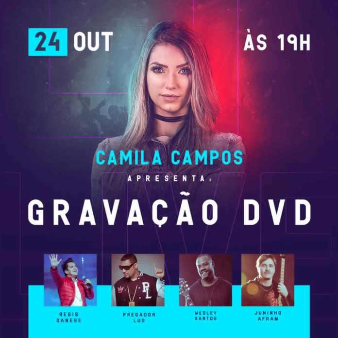 Camila Campos anuncia gravação do seu primeiro DVD