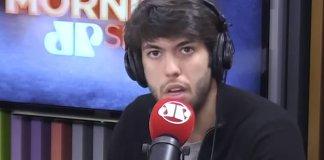 Caio Coppolla anuncia sua saída do programa Morning Show